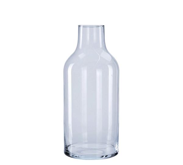 Γυάλινο βάζο σχ.φιάλη 13,5x30cm