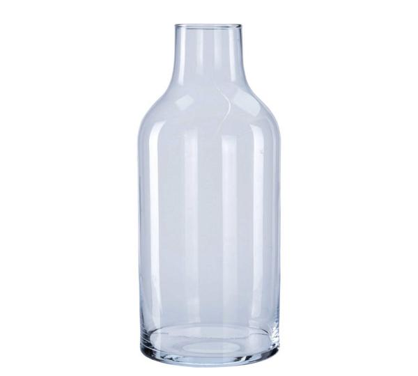 Γυάλινο βάζο σχ.φιάλη 15,5x35cm