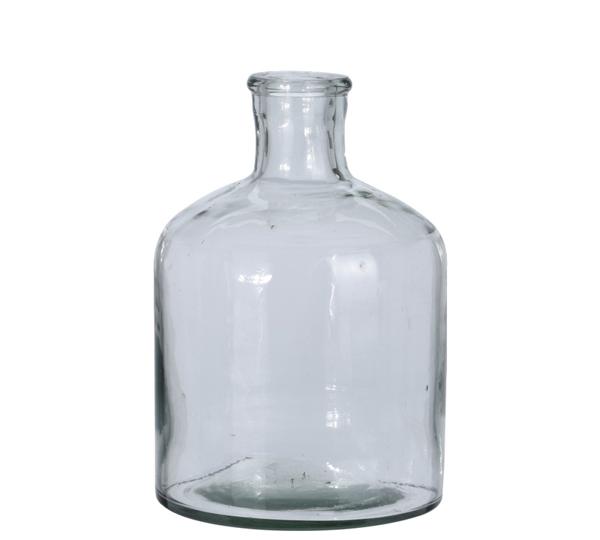 Γυάλινο χειροποίητο βάζο, 20cm