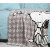 ΚΟΥΒΕΡΤΑ ΠΟΛ.FLEECE SNOOPY HAPPINESS 110X140