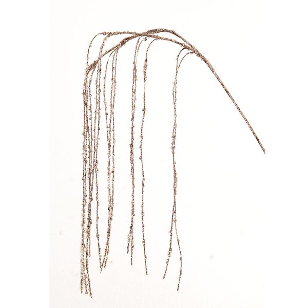6/144-88cm gold branch w/strass 24-144