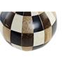 DECORATION BALL BAMBOO RESIN 10X10X10 BLACK