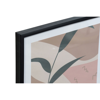 PICTURE PVC MDF 44X3X63 LEAVES FRAMED 4 MOD.