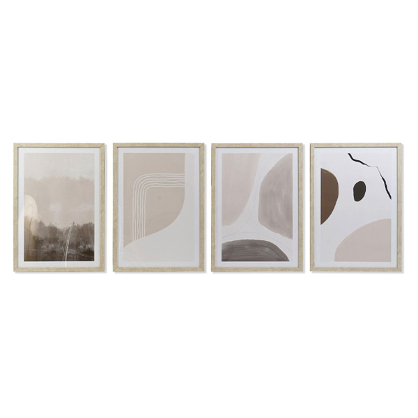 PICTURE PVC MDF 44X3X63 ABSTRACT FRAMED 4 MOD.
