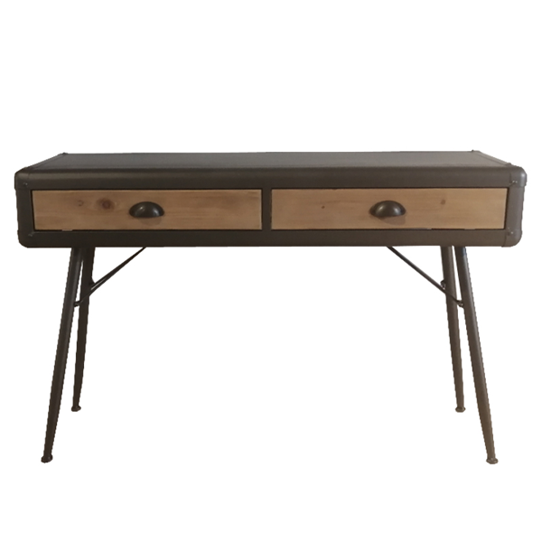 ITMB-171209 CONCOLE TABLE SPRUCE METAL 118X40X77