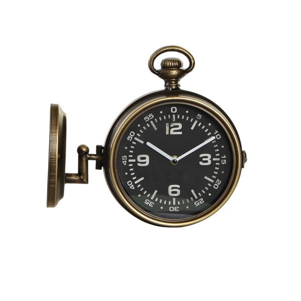 ITRE-179989 WALL CLOCK IROM 30X9.5X28